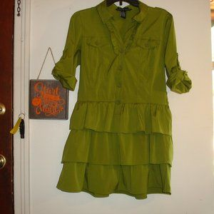 Antila Femme Sz L Shirt dress great condition